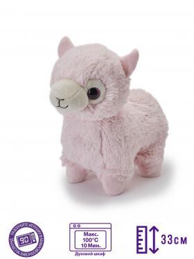 Пинкл (Pinkl) | Игрушка-грелка Альпака | Intelex Ltd Warmies Cozy Plush Alpaca