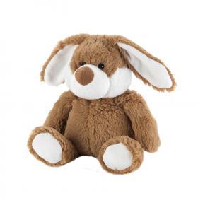 Пинкл (Pinkl) | Игрушка-грелка Коричневый Кролик | Intelex Ltd Warmies Cozy Plush Brown Bunny