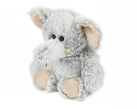 Пинкл (Pinkl) | Игрушка-грелка Marshmallow Слоник | Intelex Ltd Warmies Cozy Plush Marshmallow Elephant