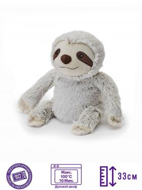 Пинкл (Pinkl) | Игрушка-грелка Marshmallow Ленивец | Intelex Ltd Warmies Cozy Plush Marshmallow Sloth