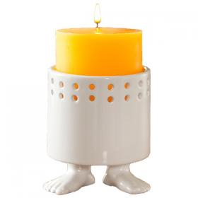 Пинкл (Pinkl) | Подсвечник | Dylan Kendall Efeet Collection Candle Holder White | Подарки
