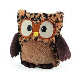 Пинкл (Pinkl) | Совенок-грелка Леопардовый | Intelex Ltd Warmies Hooty Hooty Tawny | Подарки