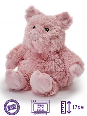Пинкл (Pinkl) | Игрушка-грелка Junior Поросенок | Intelex Warmies Cozy Plush Junior Pig