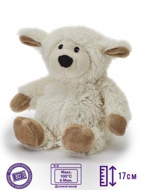 Пинкл (Pinkl) | Игрушка-грелка Junior Овечка | Intelex Warmies Cozy Plush Junior Sheep