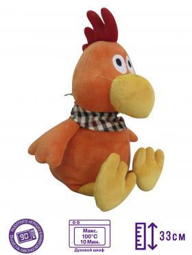 Пинкл (Pinkl) | Игрушка-грелка Петух | Intelex Warmies 2017 New Year Toy Simbol Cock