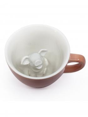 Пинкл (Pinkl) | Кружка с поросенком | Creature Cups Pig