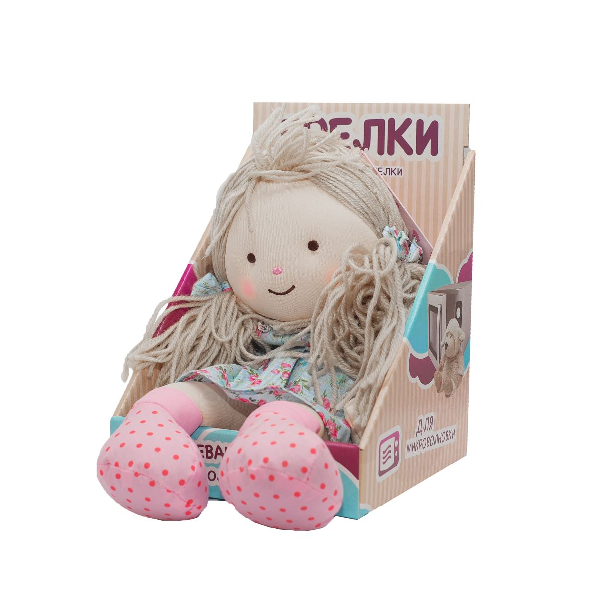 Пинкл (Pinkl) | Кукла-грелка Оливия | Olivia Warmheart Heatable Rag Doll