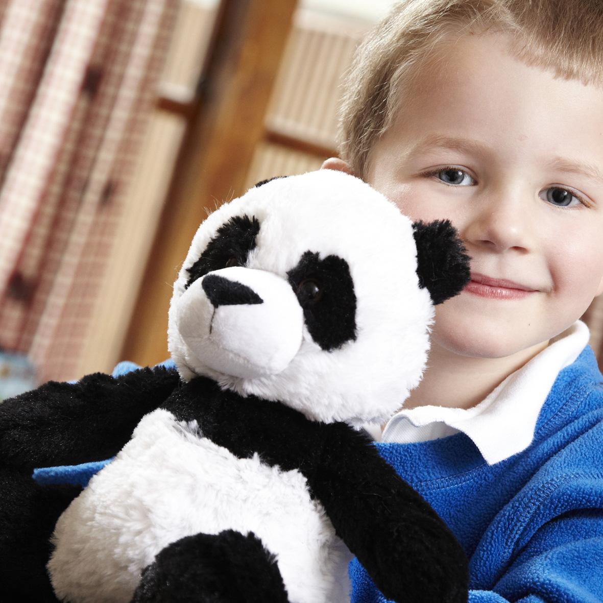 Пинкл (Pinkl) | Игрушка-грелка Панда | Cozy Plush Microwaveable Soft Toy Panda Intelex
