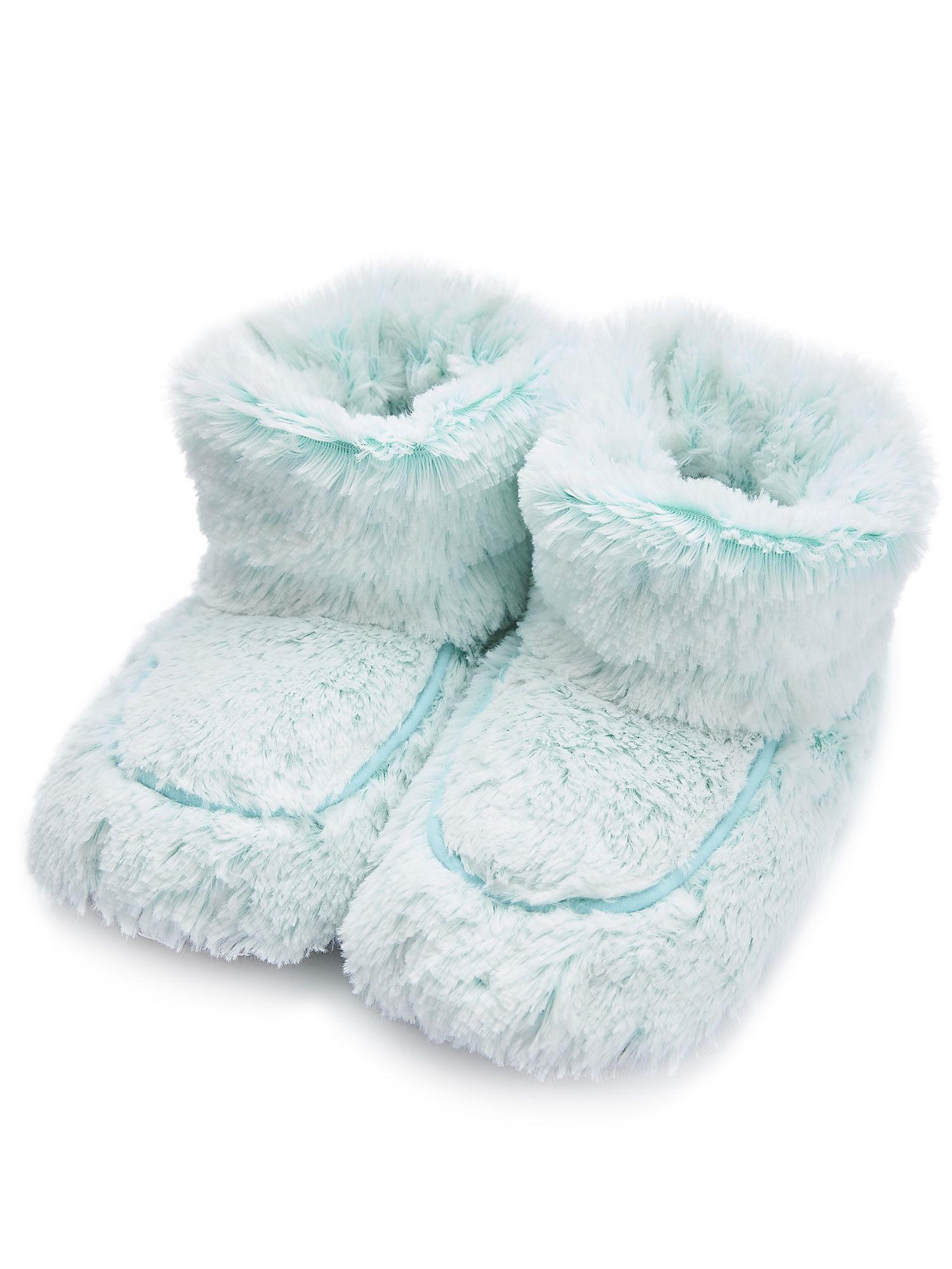 Пинкл (Pinkl) | Сапожки-грелки мятные Marshmallow | Intelex Ltd Warmies Cozy Body Mint Marshmallow Boots