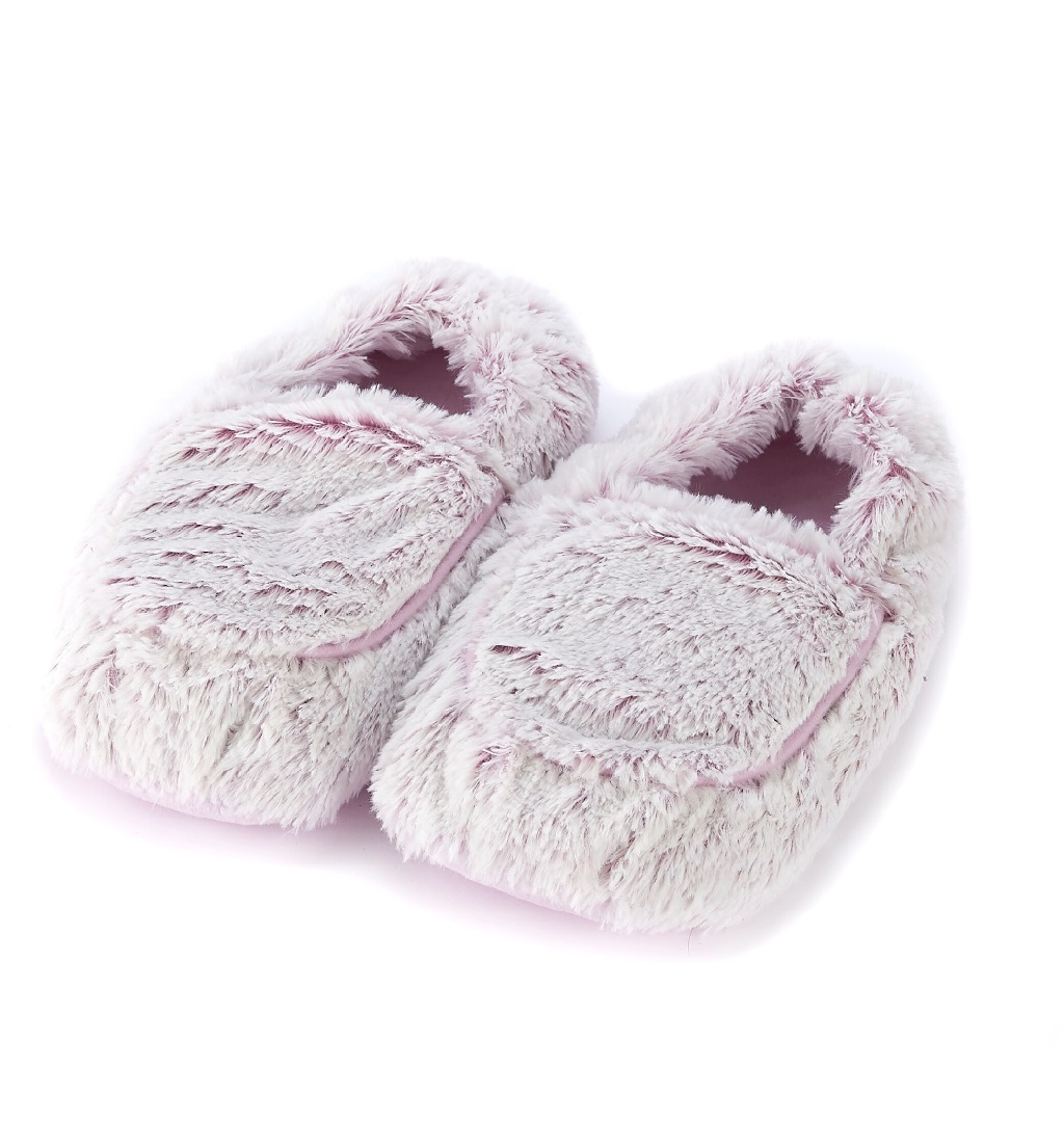 Пинкл (Pinkl) | Тапочки-грелки розовые Marshmallow | Intelex Ltd Warmies Cozy Body Pink Marshmallow Slippers