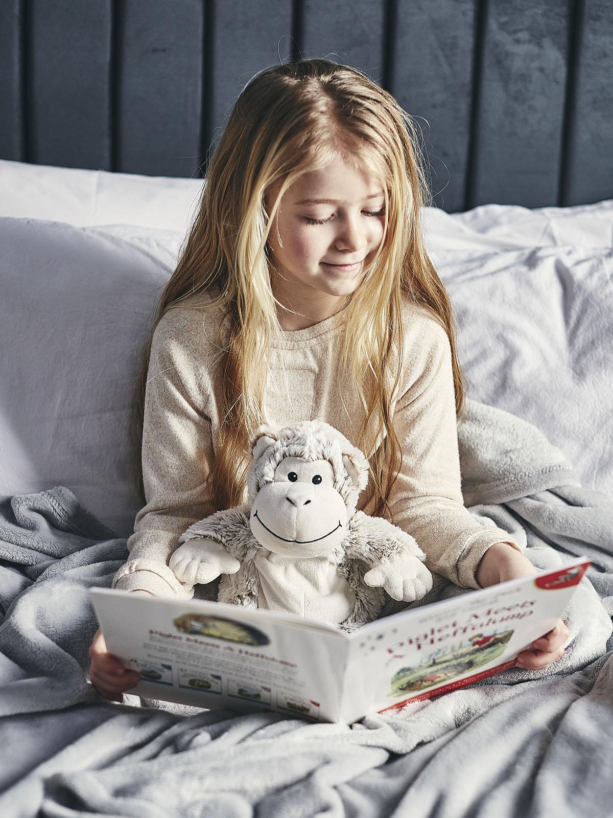 Пинкл (Pinkl) | Игрушка-грелка Marshmallow Обезьяна | Intelex Warmies Cozy Plush Marshmallow Monkey