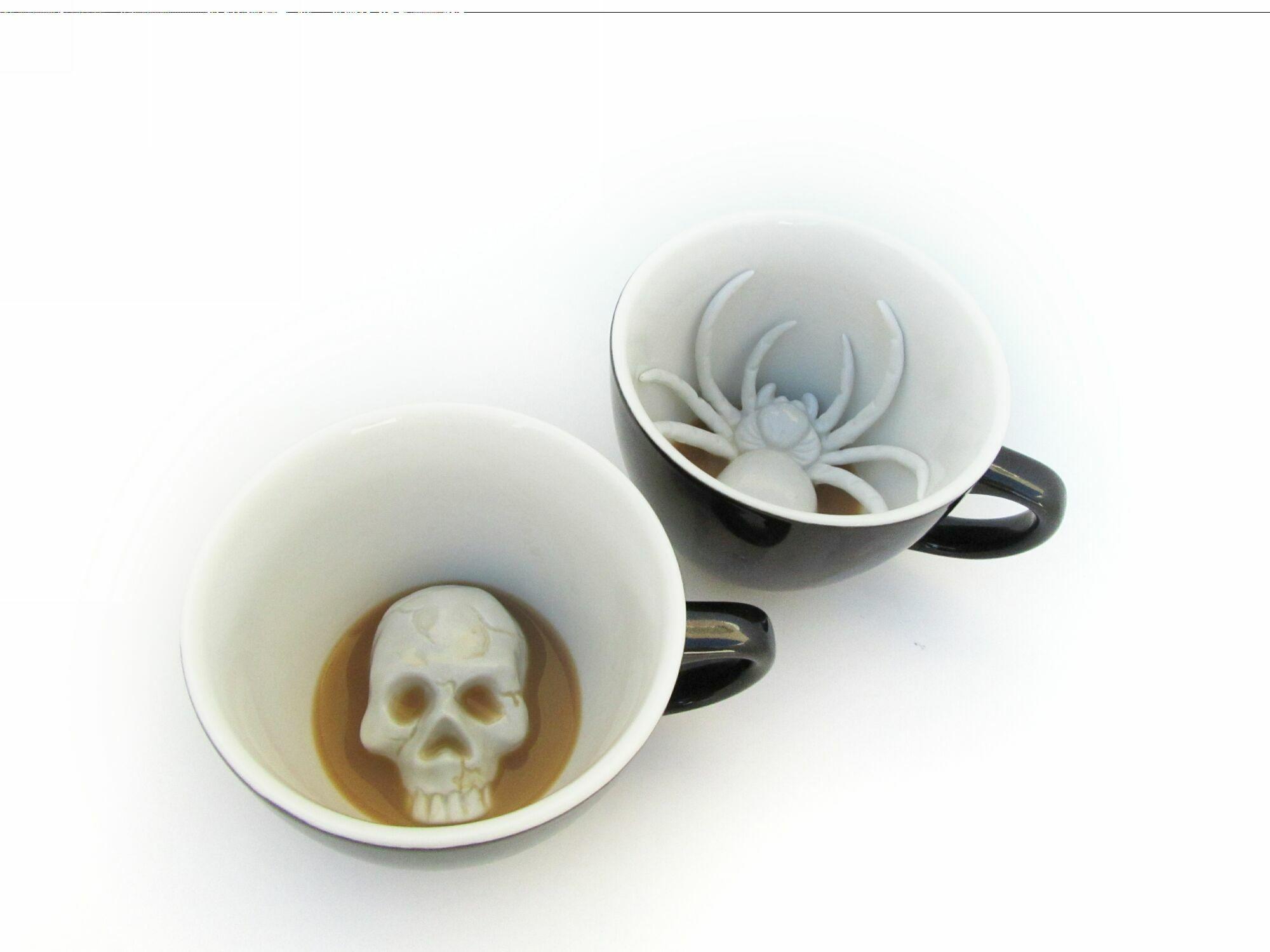 Пинкл (Pinkl) | Кружка с черепом 330мл | Creature Cups SkullCup 11oz