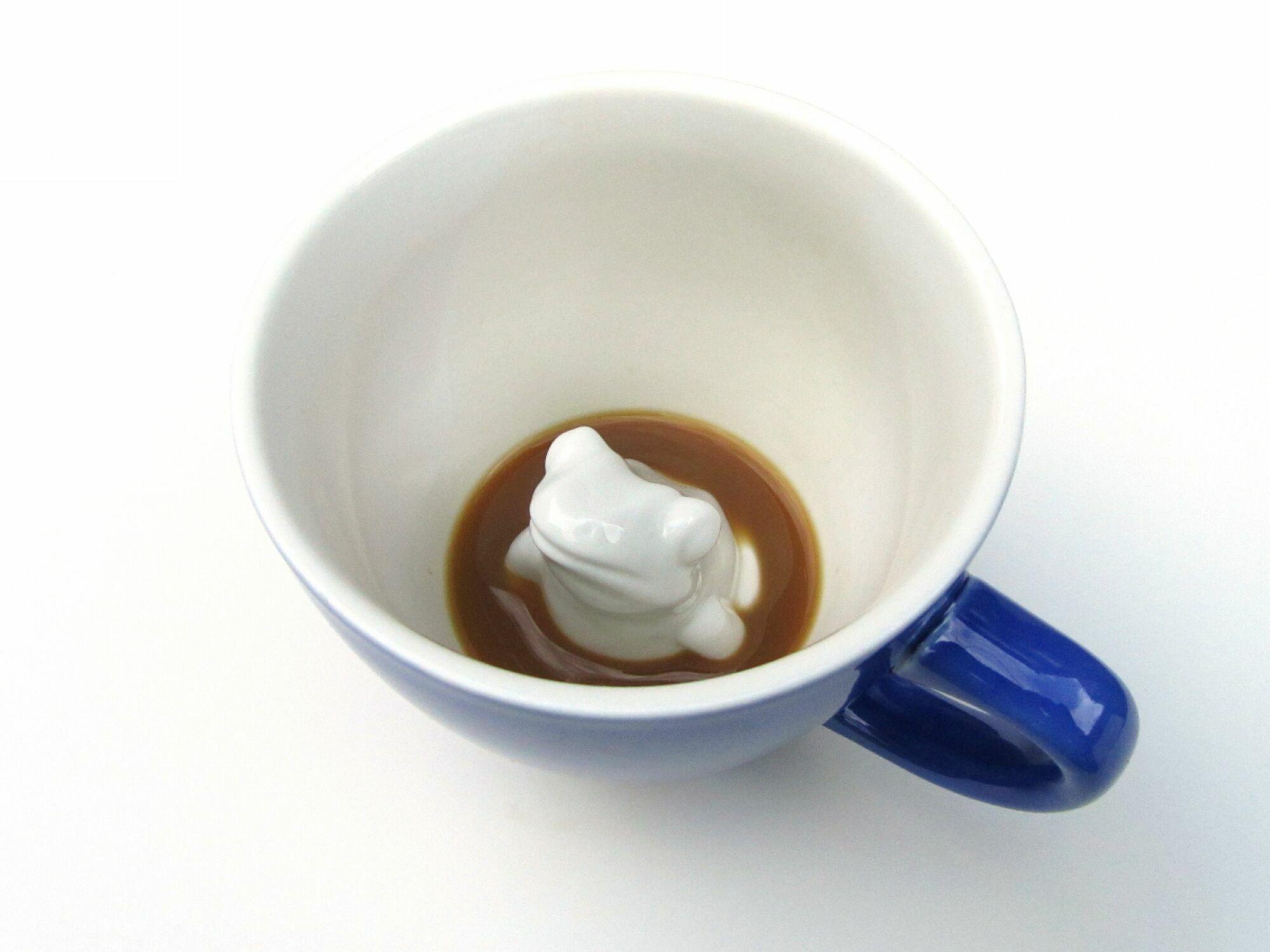 Пинкл (Pinkl) | Кружка с лягушкой 330мл | Creature Cups FrogCup 11oz