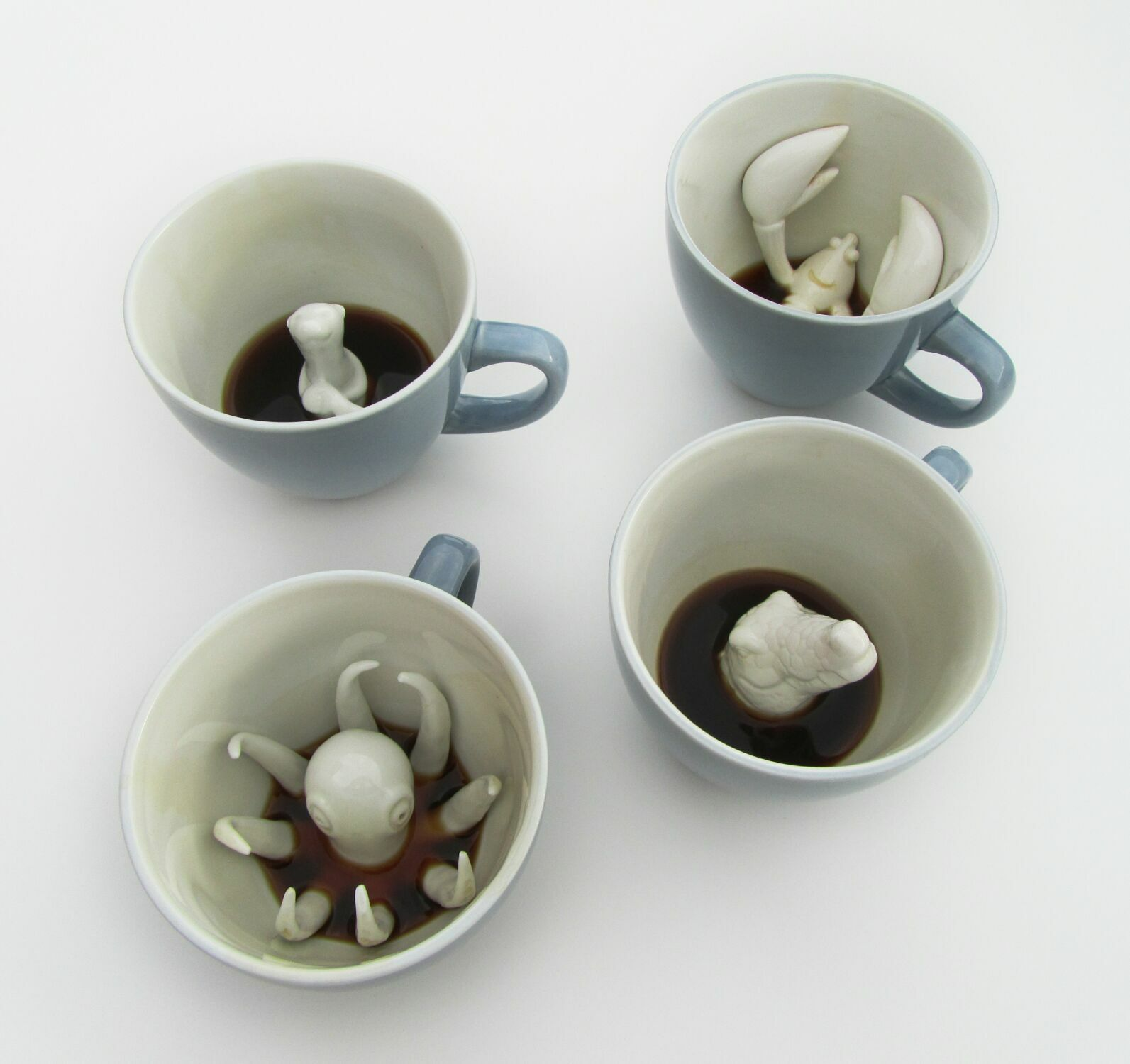 Пинкл (Pinkl) | Кружка с выдрой 330мл | Creature Cups SeaOtterCup 11oz