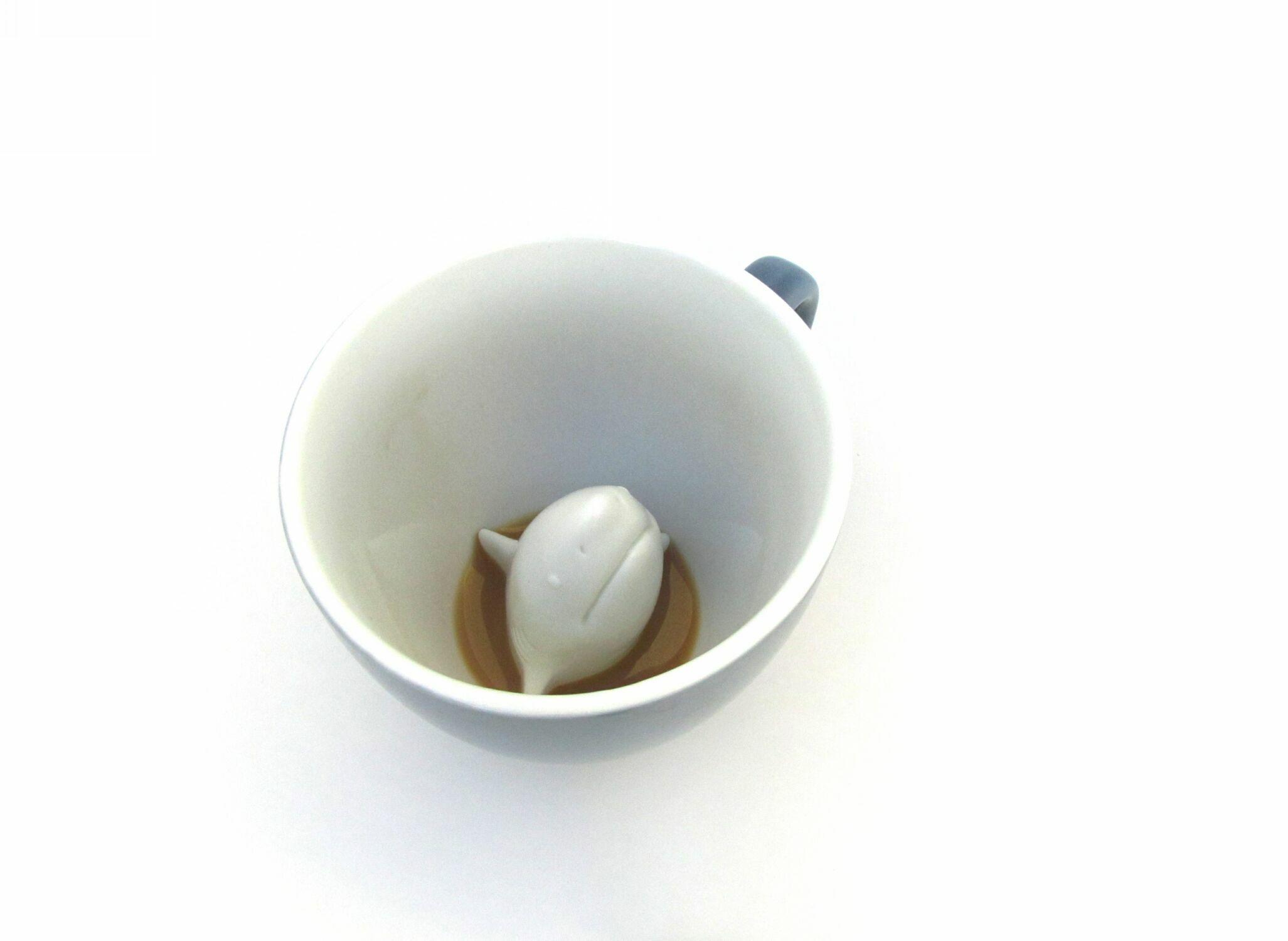 Пинкл (Pinkl) | Кружка с акулой 330мл | Creature Cups SharkCup 11oz