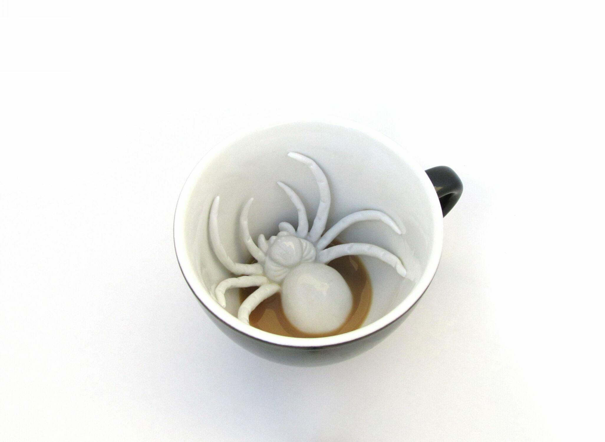 Пинкл (Pinkl) | Кружка с пауком 330мл | Creature Cups SpiderCup 11oz