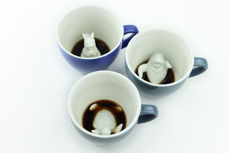 Пинкл (Pinkl) | Кружка с Черепахой 330мл | Creature Cups TurtleCup 11oz