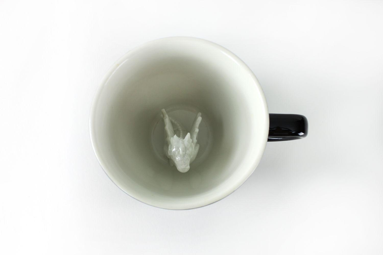 Пинкл (Pinkl) | Кружка с Драконом 330мл | Creature Cups DragonCup 11oz