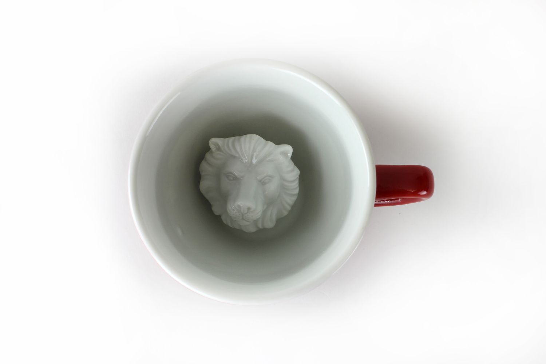 Пинкл (Pinkl) | Кружка со Львом 330мл | Creature Cups LionCup 11oz