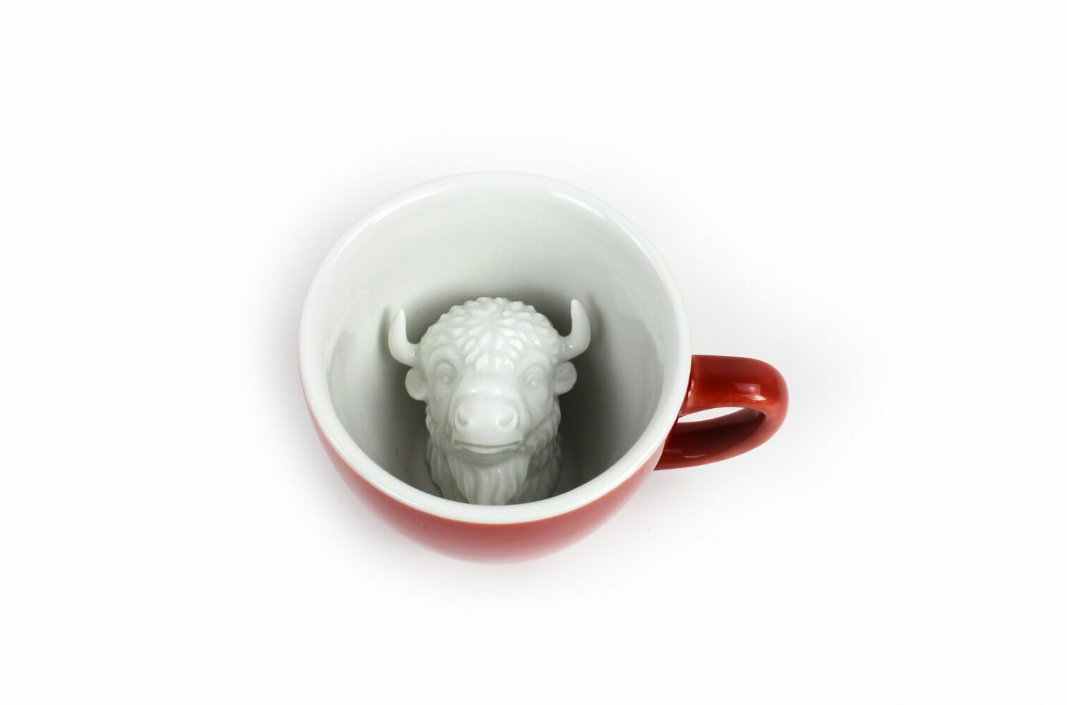 Пинкл (Pinkl) | Кружка с бизоном 330мл | Creature Cups Bison