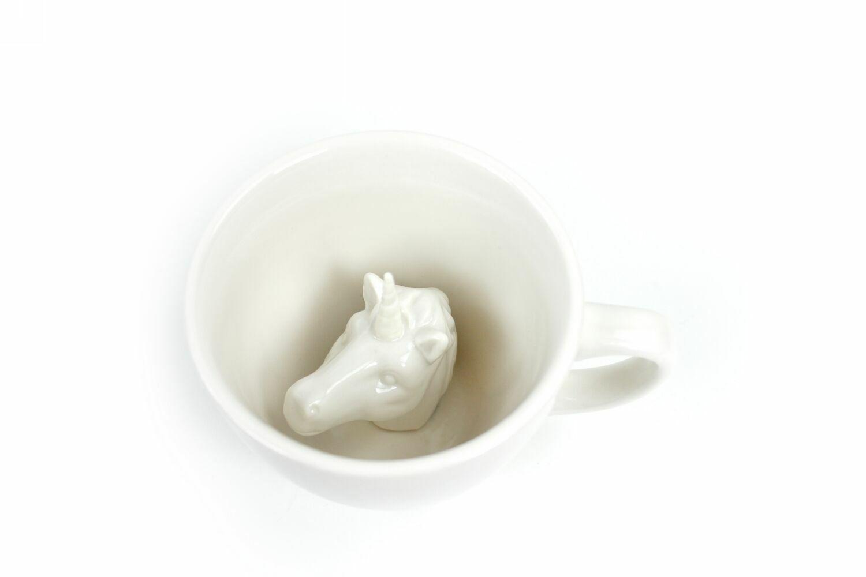 Пинкл (Pinkl) | Кружка с единорогом 330мл | Creature Cups Unicorn