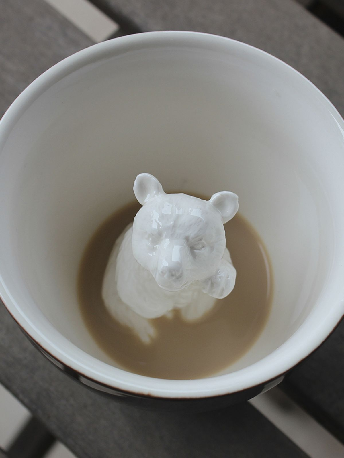 Пинкл (Pinkl) | Кружка с медведем | Creature Cups Bear