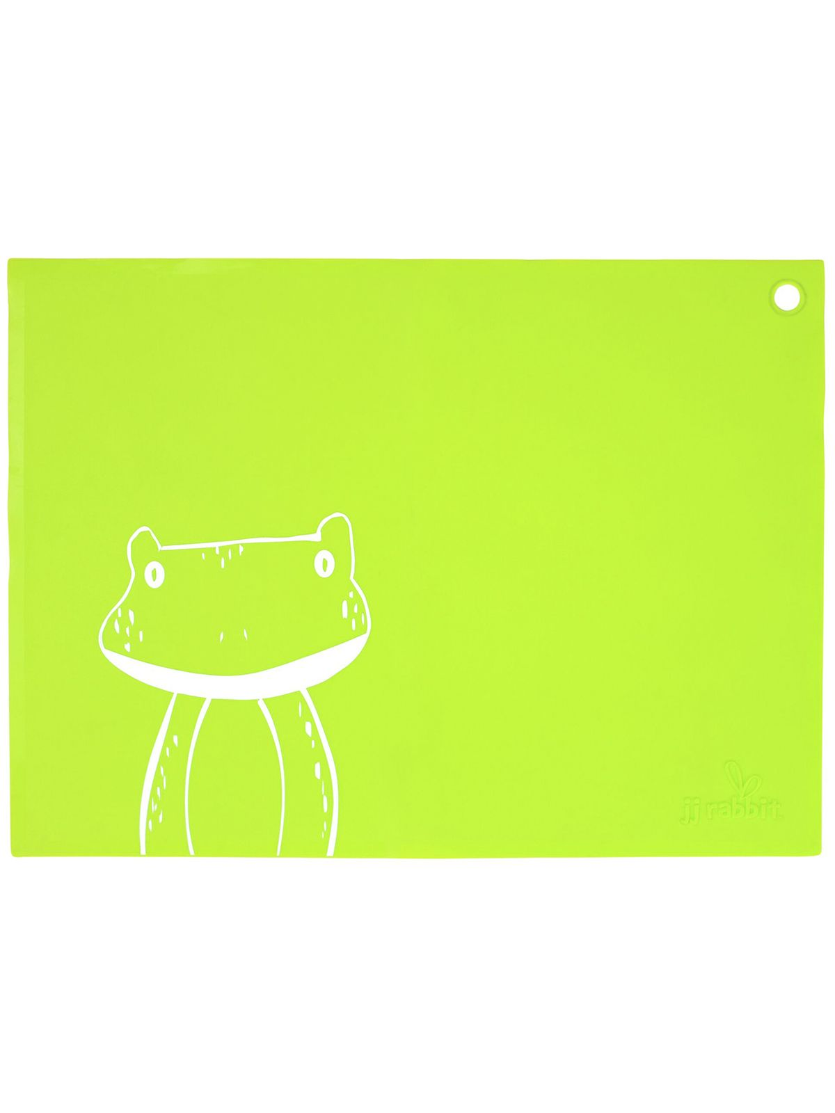 Пинкл (Pinkl) | Коврик для кормления siliMAT лягушонок | Jjrabbit Silimat Frog