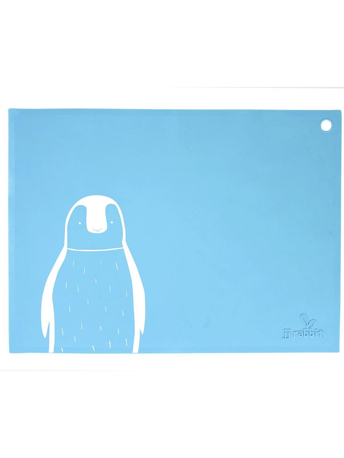 Пинкл (Pinkl) | Коврик для кормления siliMAT пингвин | Jjrabbit Silimat Penguin