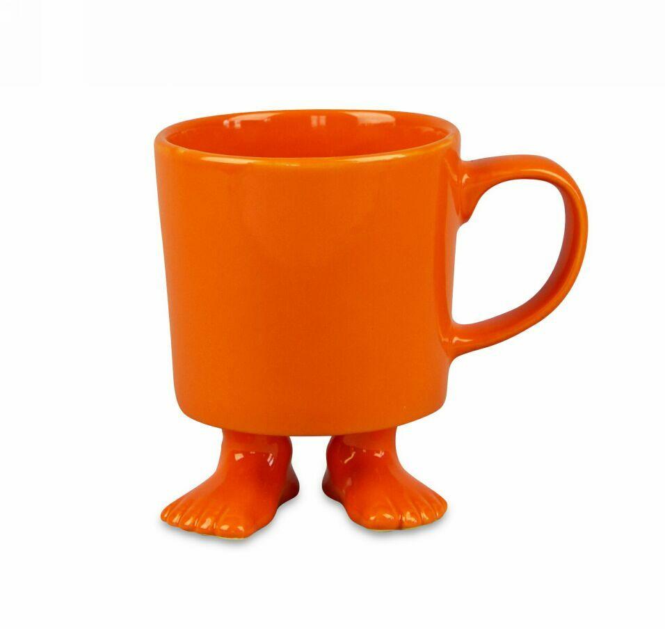 Пинкл (Pinkl) | Кружка цвет оранжевый | Dylan Kendall Efeet Collection Mug Orange