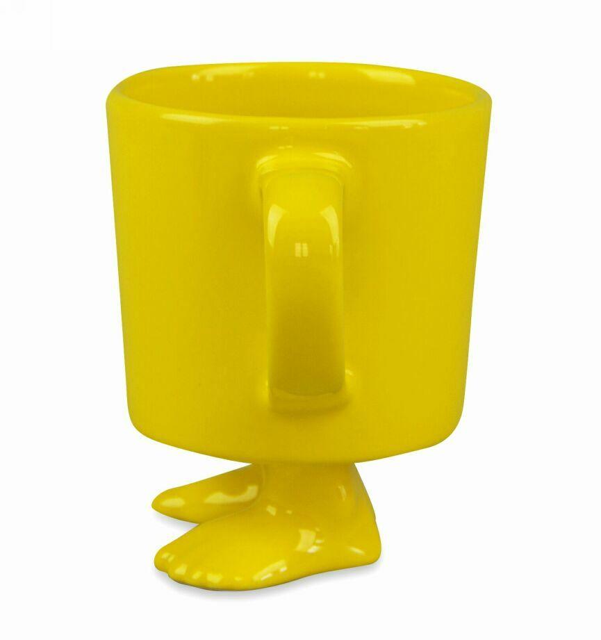 Пинкл (Pinkl) | Кружка цвет желтый | Dylan Kendall Efeet Collection Mug Yellow