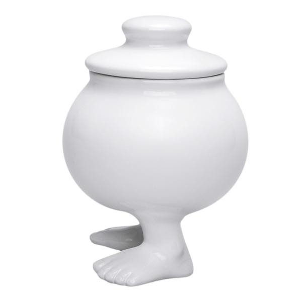 Пинкл (Pinkl) | Сахарница горшочек | Dylan Kendall Efeet Collection Sugar Bowl White