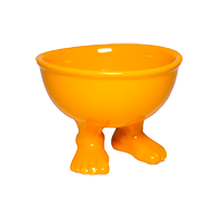 Миска (тарелка) средняя оранжевая