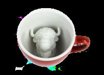 Кружка с бизоном 330мл