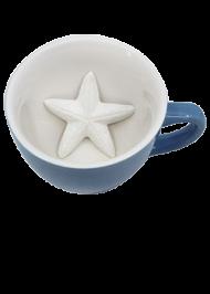 Кружка с морской звездой