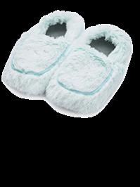 Тапочки-грелки мятные Marshmallow