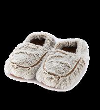 Тапочки-грелки бежевые Marshmallow