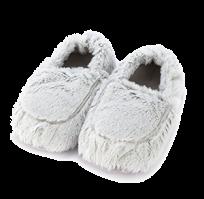 Тапочки-грелки серые Marshmallow