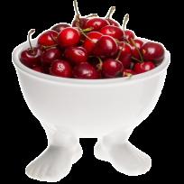 Миска (тарелка) средняя белая