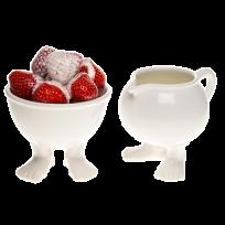 Миска малая и молочник