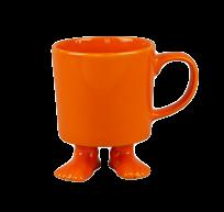 Кружка цвет оранжевый