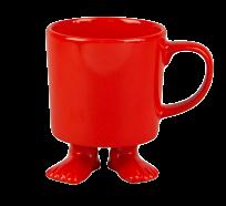 Кружка цвет красный