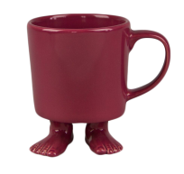 Кружка цвет розовый